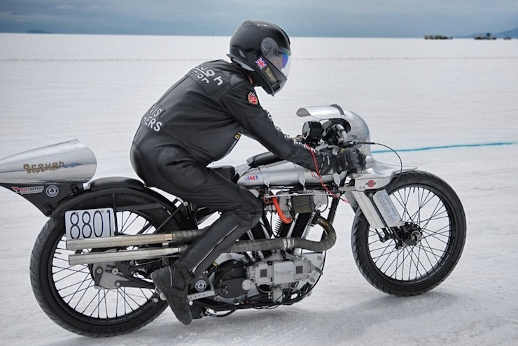 brough superior bonneville salt flats 10