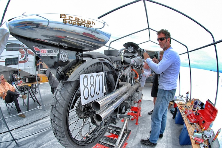 brough superior bonneville salt flats 4