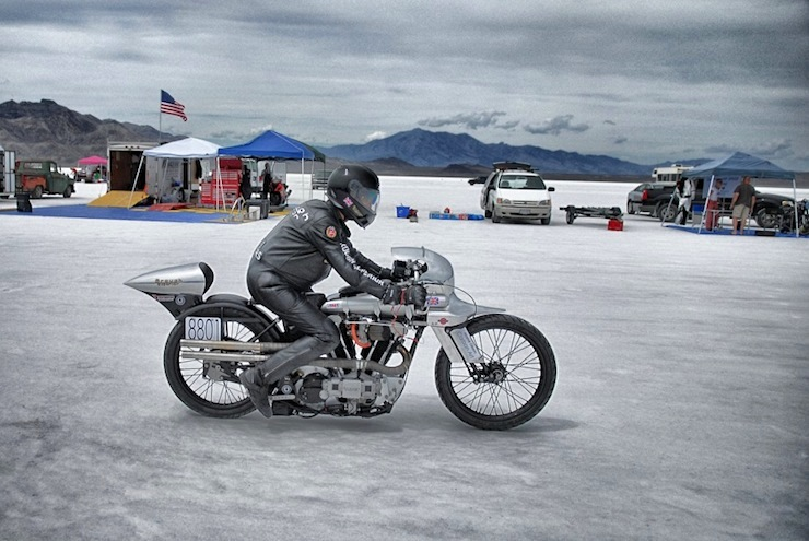 brough superior bonneville salt flats 7