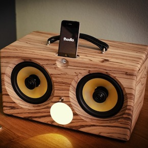 thodio ibox XC aptX bluetooth apple universal dock best iphone speaker boombox ibox wood wooden teak zebrawood zebrano oak beech cherry walnut bamboo retro ammo can box speakers 3 1024x1024 2 - thodio iBox XC