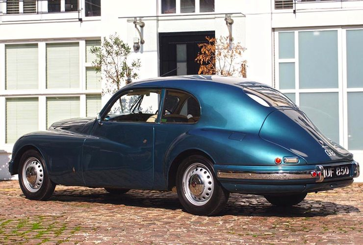 1953 Bristol 403 back