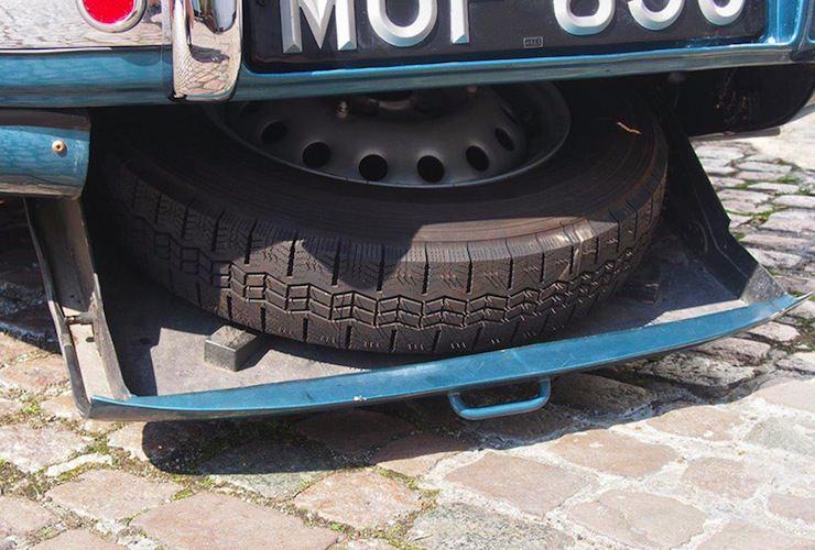 1953 Bristol 403 spare tire