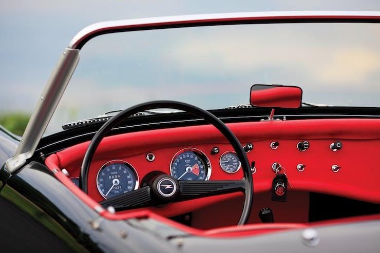 1963 Austin-Healey Sprite Dashboard