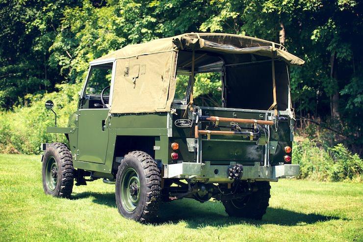 1969 Land Rover Series IIA Air-Portable back