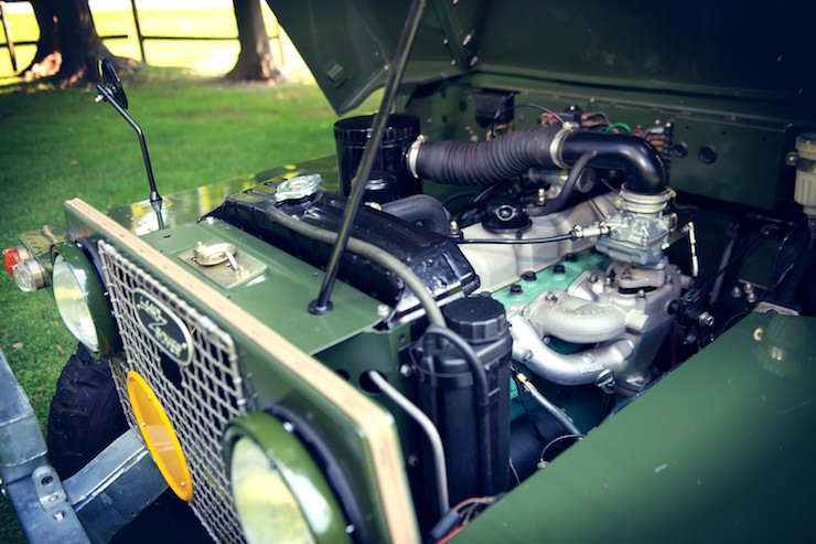 1969 Land Rover Series IIA Air Portable engine 1969 Land Rover Series IIA Air Portable
