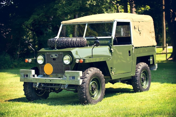 1969 Land Rover Series IIA Air-Portable front side