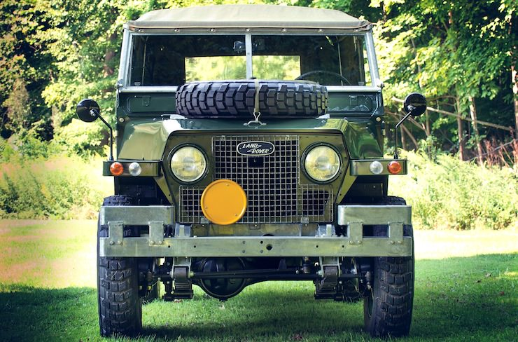 1969 Land Rover Series IIA Air Portable front 1969 Land Rover Series IIA Air Portable