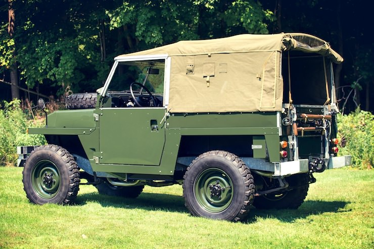 1969 Land Rover Series IIA Air Portable rear 1969 Land Rover Series IIA Air Portable