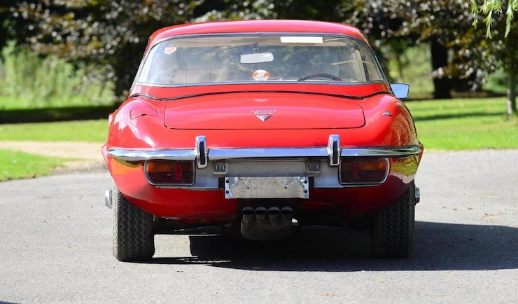 1971 Jaguar E-Type Series III V12 Roadster 3
