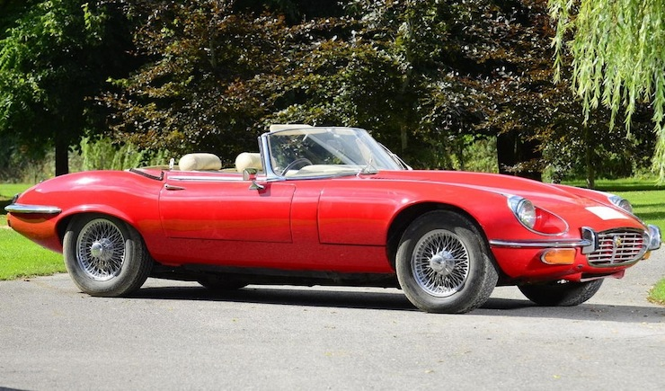 1971 Jaguar E-Type Series III V12 Roadster