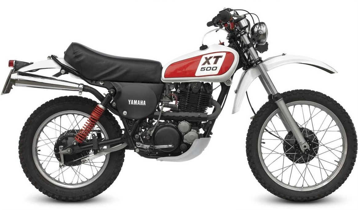 1977 yamaha xt500 for Yamaha xt500 motorcycle
