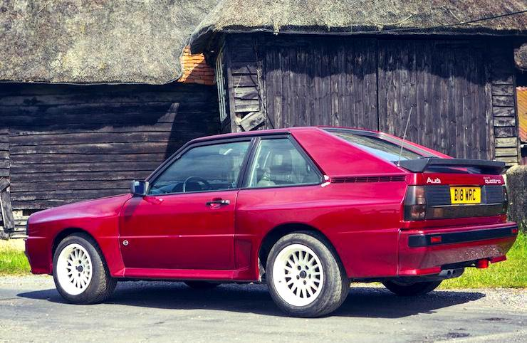 1985 Audi Quattro Sport SWB Coupé back side