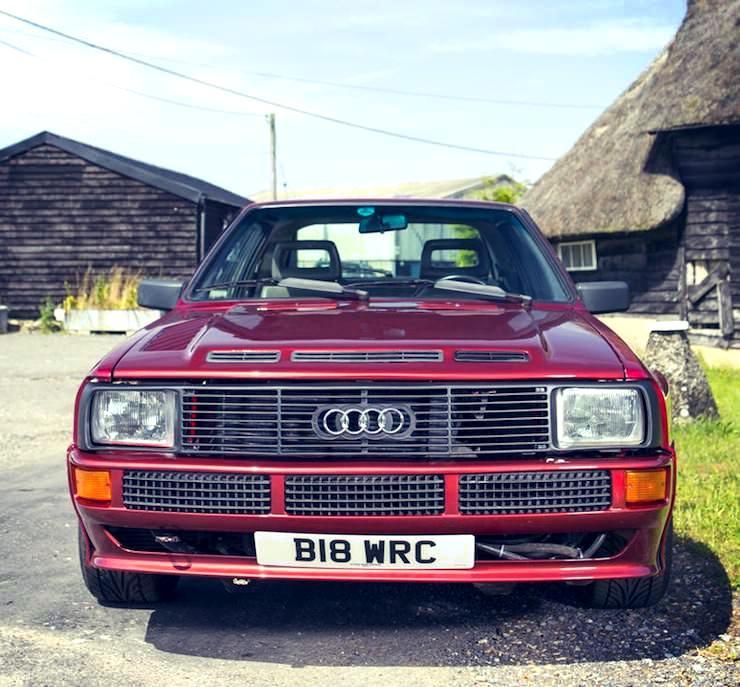 1985 Audi Quattro Sport SWB Coupé front