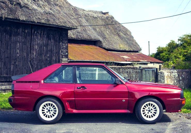 1985 Audi Quattro Sport SWB Coupé side