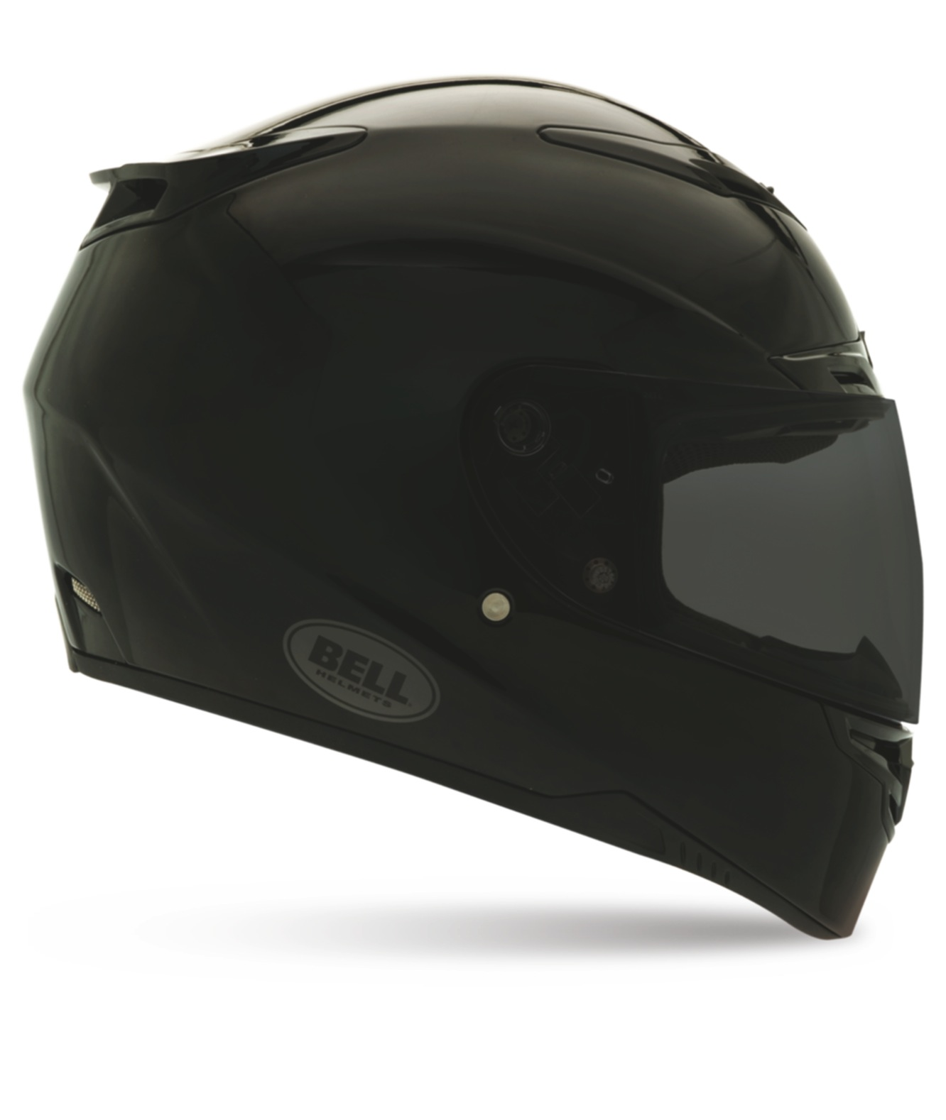 Lightsensing LCD motorcycle helmet visor selftints in an