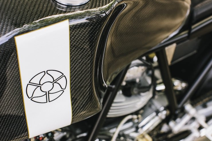 Custom Ducati Fuel Tank