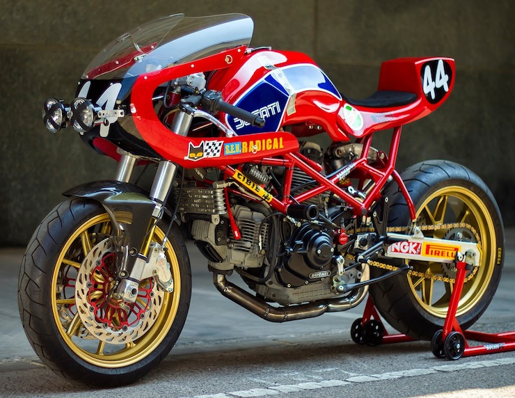 Custom Ducati Monster by Radical Ducati 2