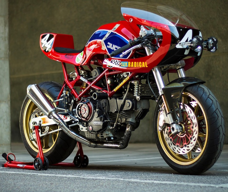 Custom Ducati Monster by Radical Ducati 3