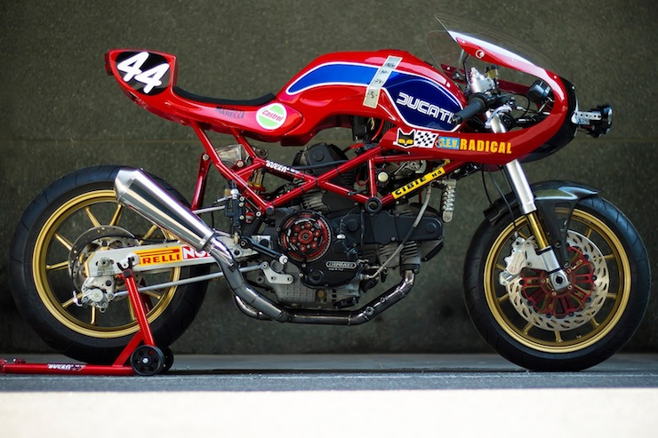 Custom Ducati Monster by Radical Ducati
