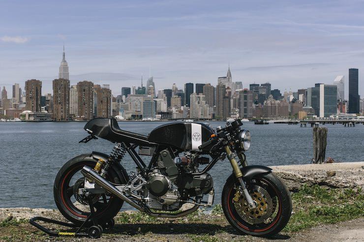 Custom Ducati Walt Siegl