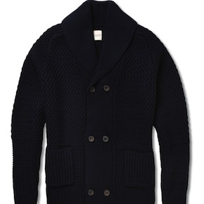 Double-Breasted Cardigan by Hardy Amies