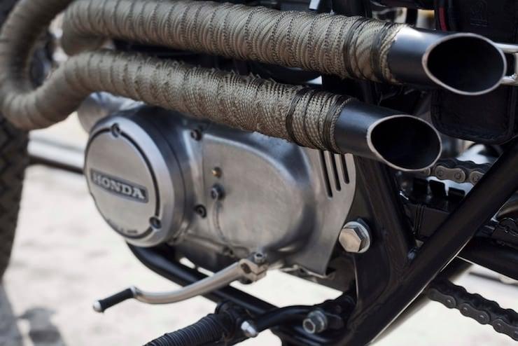 Honda CB250 Custom Motorbike 10