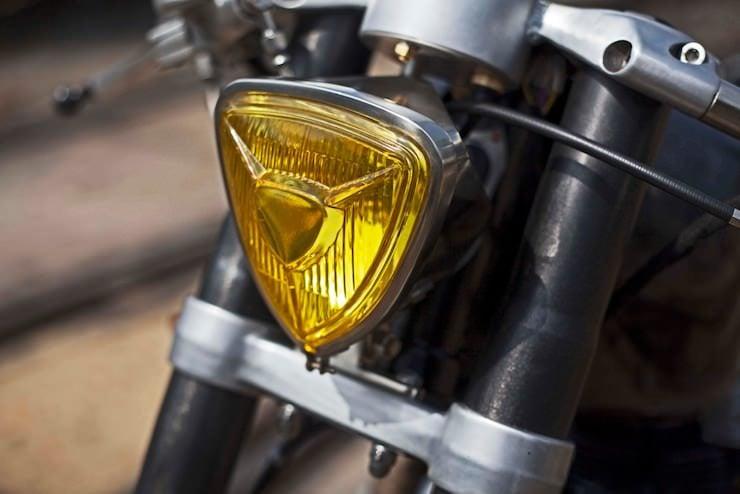Honda CB250 Custom Motorbike 8