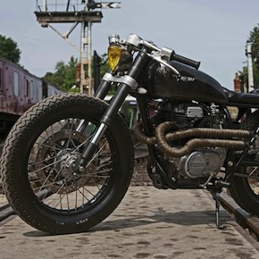 Honda CB250 Custom Motorbike1 - Vulcan by Old Empire Motorcycles