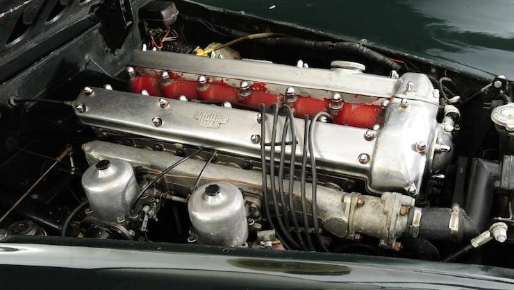 Jaguar XK120 engine 1951 Jaguar XK120 3.8 Litre Competition Roadster