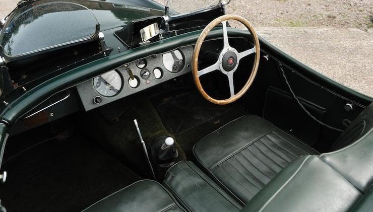 Jaguar XK120 interior 1951 Jaguar XK120 3.8 Litre Competition Roadster