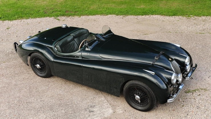 Jaguar XK120 side