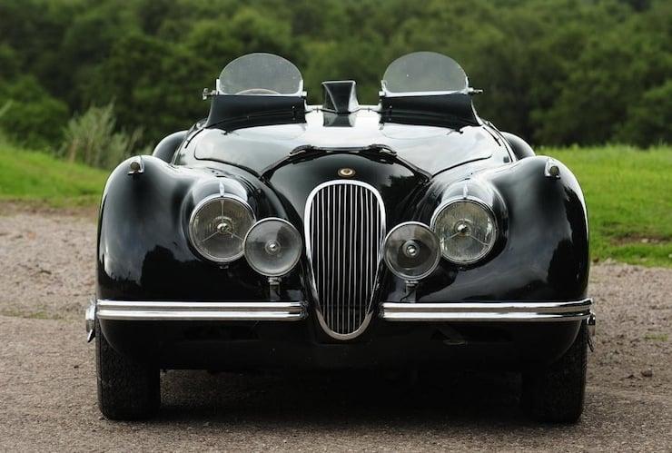 Jaguar XK120 windshields 1951 Jaguar XK120 3.8 Litre Competition Roadster