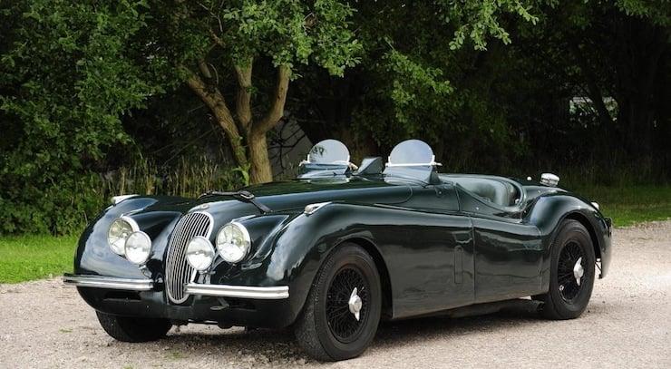 Jaguar XK120 1951 Jaguar XK120 3.8 Litre Competition Roadster