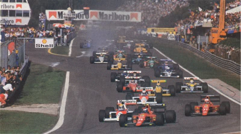 Onboard With Gerhard Berger - Estoril 1989 Formula 1 Grand Prix