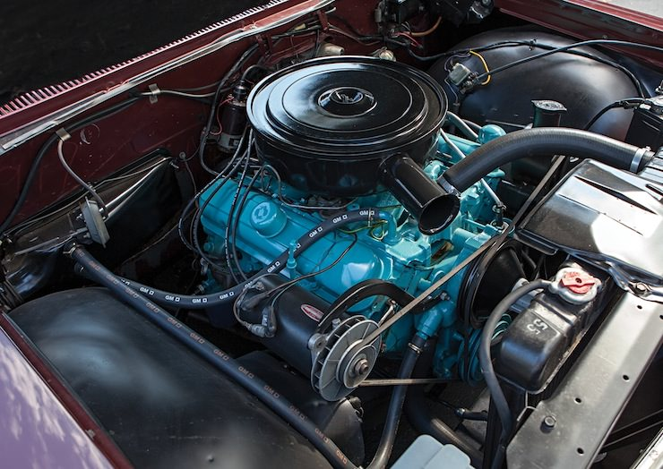 Pontiac Grand Prix Sport Coupe engine 1962 Pontiac Grand Prix Sport Coupe