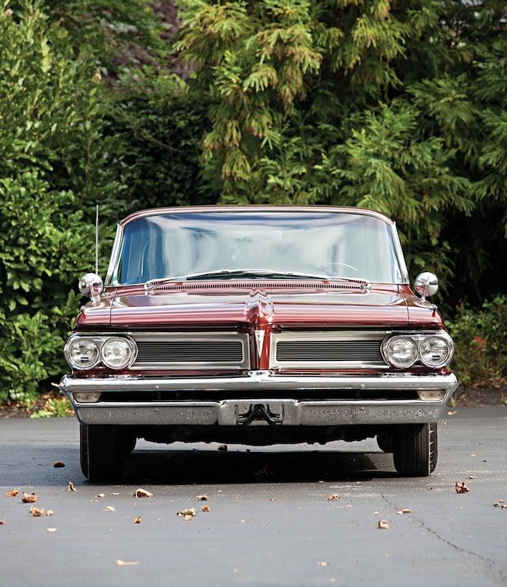 Pontiac Grand Prix Sport Coupe front 1962 Pontiac Grand Prix Sport Coupe