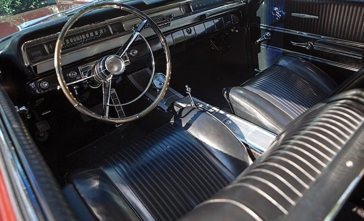 Pontiac Grand Prix Sport Coupe interior 1962 Pontiac Grand Prix Sport Coupe