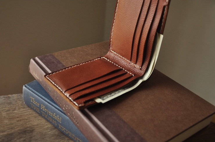 Sienna Wallet by Convoy Goods 1