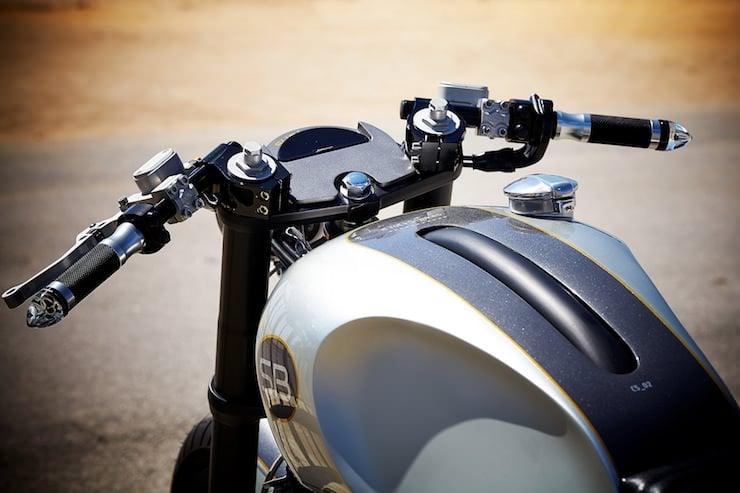 Yamaha XJR 1200 tank