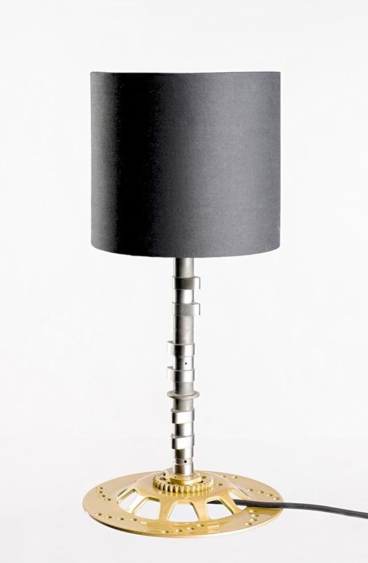 custom moto lamp Moto Lamps by Greg Drzymalski Design