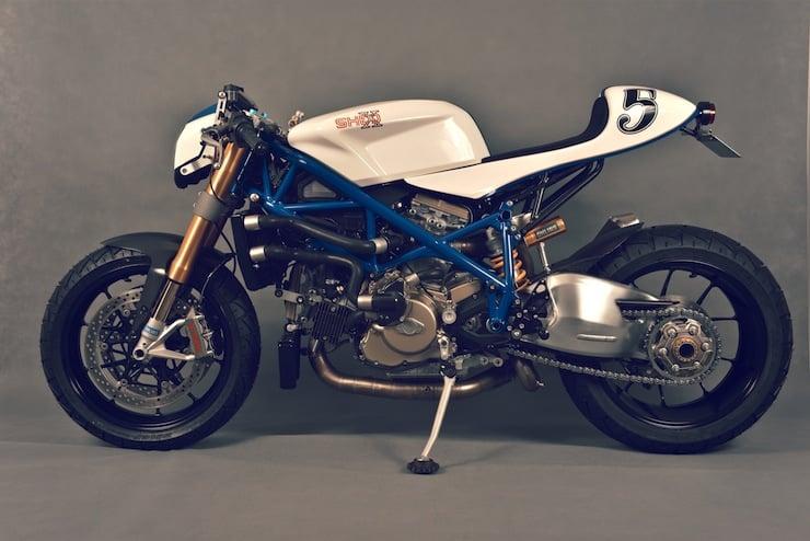 ducati custom motorbike