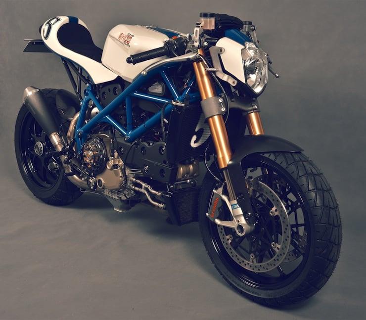 ducati custom motorcycle