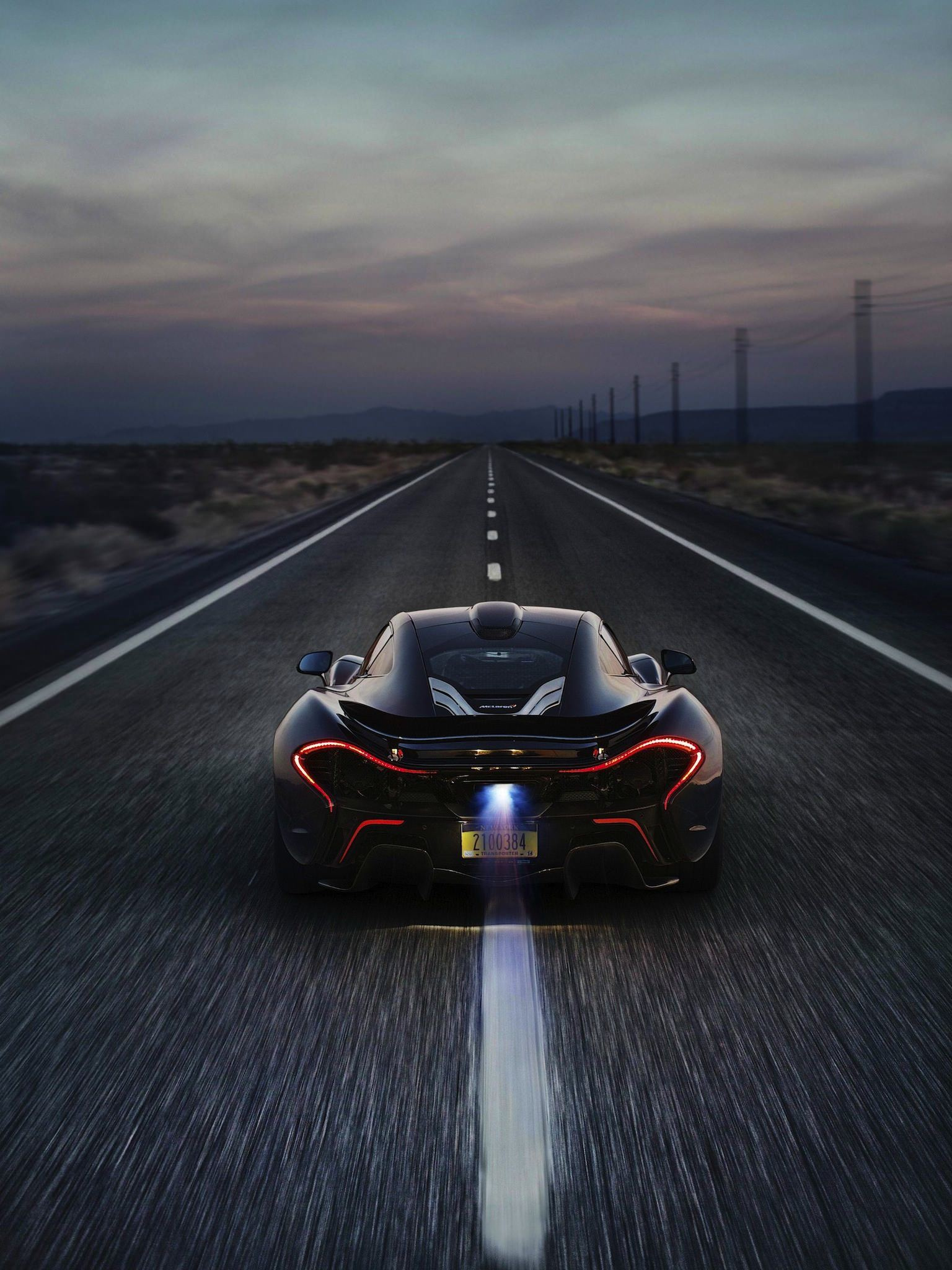 Mclaren P1 Iphone Ipad Wallpaper