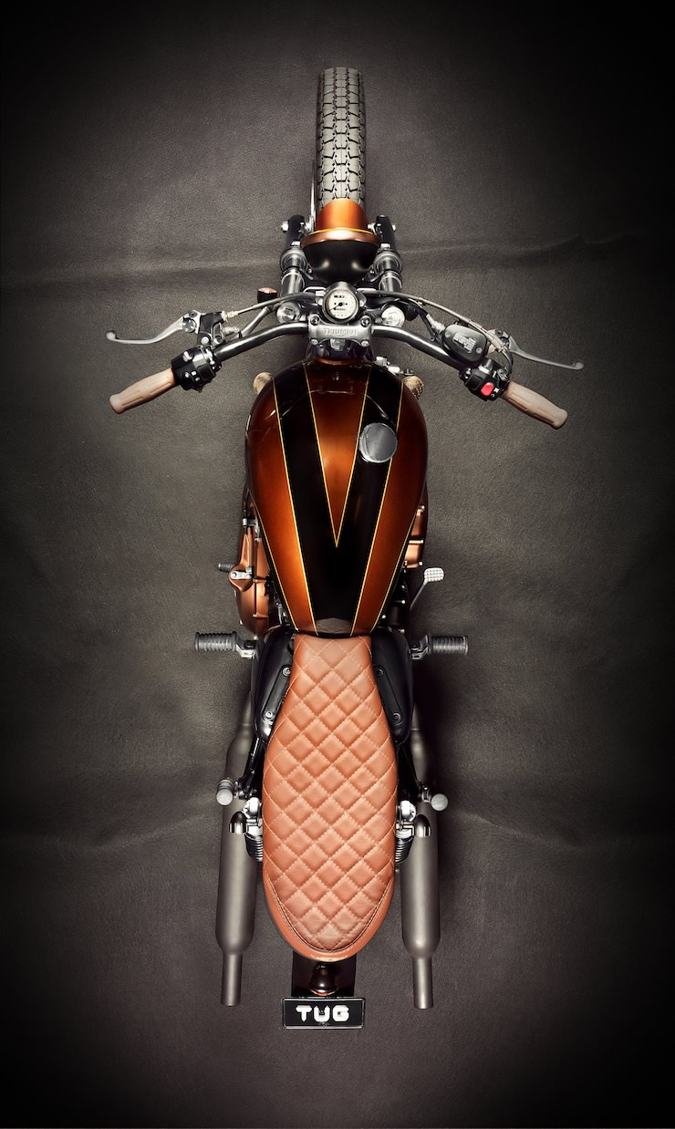 Triumph Bonneville Custom By Ton Up Garage