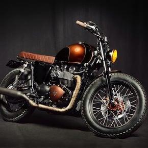 triumph bonneville efi 7 - Triumph Bonneville Custom by Ton Up Garage