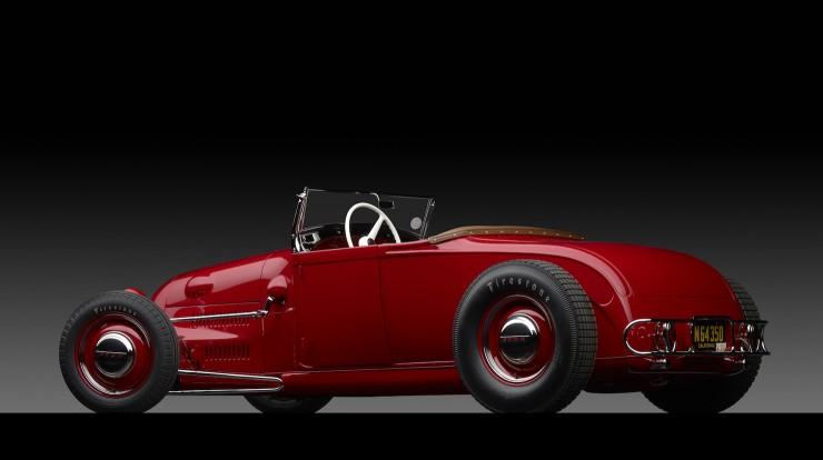 1929 Ford 'Dick Flint' Roadster Back