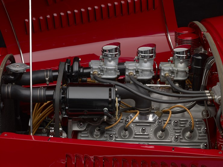 1929 Ford 'Dick Flint' Roadster Engine