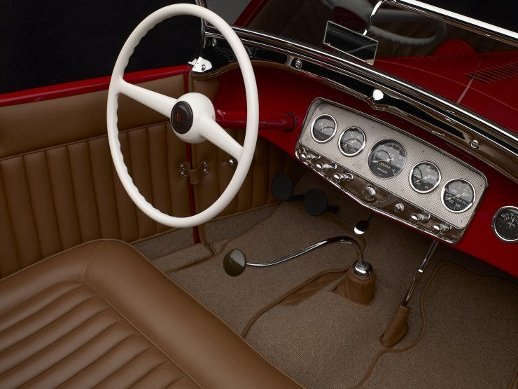 1929 Ford 'Dick Flint' Roadster Interior