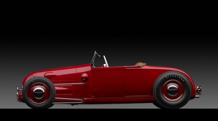 1929 Ford 'Dick Flint' Roadster Side