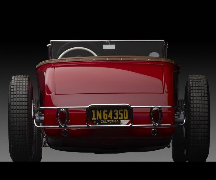 1929 Ford Dick Flint Roadster rear 740x619 1929 Ford Dick Flint Roadster